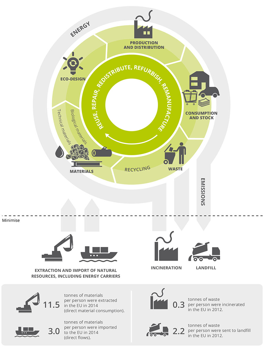 Circular economy in Europe — Developing the knowledge base